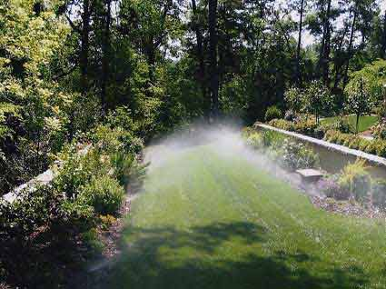 LAWN SPRINKLER BLOW OUT