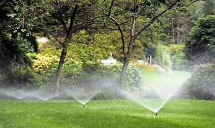 LAWN SPRINKLER START UP
